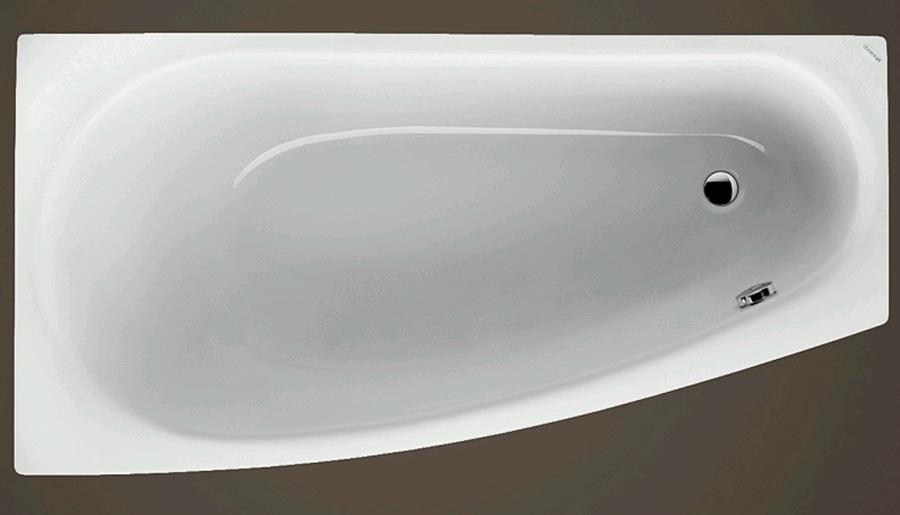ARIELA 1500x800x425 mm levá akrylátová