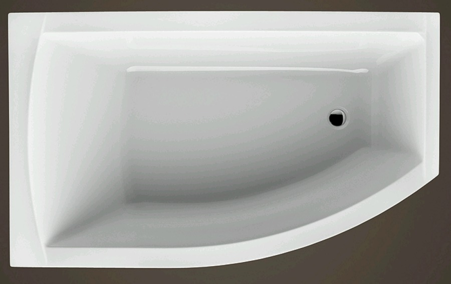 FIONA 1500x850x445 mm levá akrylátová