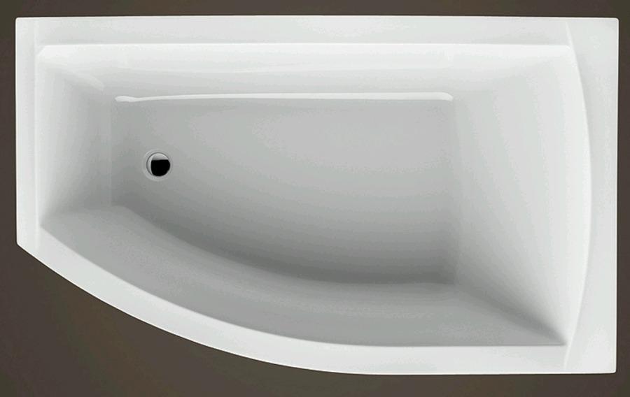 FIONA 1500x850x445 mm pravá akrylátová