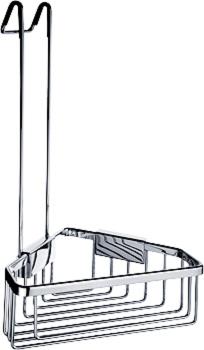 KIBO KI 14003H-26 Drátěná rohová police s hákem