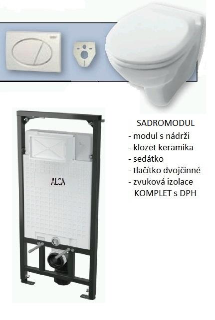 SÁDROMODUL - SET KOMPLET - AKCE