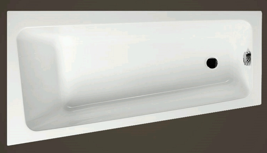 VIKY 1500x800x400 mm levá akrylátová